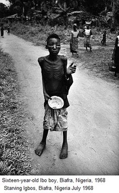 biafra starving